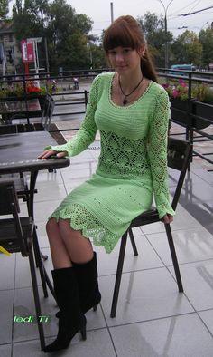 """Örgü eğlenceli bir şeydir! : Elbise """"Karelya"""""""