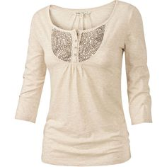 Fat Face Isla Embroidered Top ($22) ❤ liked on Polyvore featuring tops, t-shirts, shirts, blusas, long sleeves, pink long sleeve shirt, long sleeve cotton shirt, pink t shirt, jersey shirts and t shirts