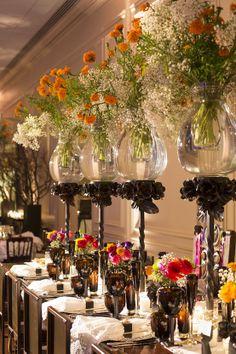 Beautiful table decor, possible centerpieces? Jan Barboglio