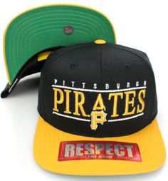 Pittsburgh Pirates Retro Snapback Cap Hat Wht Blk by Americ Needle. $8.99. Brand new retro snapback cap. Embroidered team logos. Snapback design.