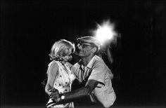 Marilyn Monroe & Arthur Miller by Eve Arnold