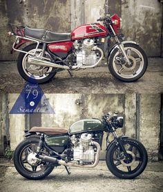 """Moto-Mucci: DAILY INSPIRATION: Alexander Herold's 1979 Honda CX500 """"Samantha"""" #textures #honda"""