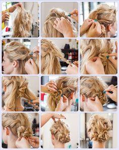 Wundervolle Hochzeit Frisuren für langes Haar