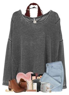 """:)"" by j-prepp ❤ liked on Polyvore featuring Hollister Co., Free People, Nordstrom Rack, Kitsch, Jouer, J.Crew, Lucky Brand and Tory Burch"