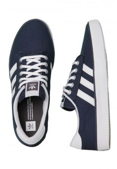 Adidas - Kiel Collegiate Navy/Ftwr White/Carbon - Shoes - Adidas shoes - Shoes - Impericon.com UK