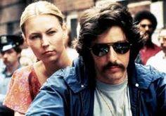Frank Serpico (Al Pacino) with Leslie Lane (Cornelia Sharpe)