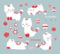 Peppermint Cat
