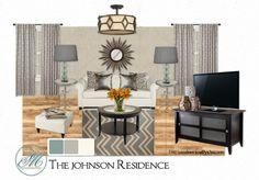 The Johnson Residence  - Living Room (2)