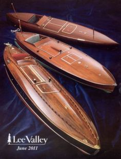 beautiful craftsmanship on these wooden boats