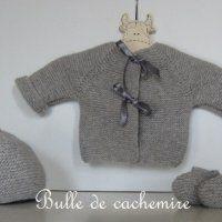 Ensemble complet Bulle de cachemire Velours Gilet Cachemire, Tricot Bébé,  Tricot Et Crochet, f91ef4acd2b