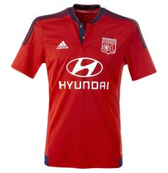 Camisas do Lyon 2015-2016 Adidas Reserva