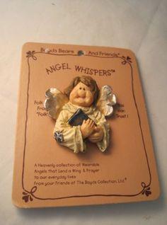 NWT-Boyds-Bears-Angel-Whispers-Angel-Pin-26200