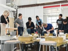 Individual Space — Sculpture Space NYC Center for Art & Ceramics Slab Roller, Clay Extruder, Pottery Classes, Ceramic Studio, Pottery Wheel, Space Nyc, Sculpture, Ceramics, Designers