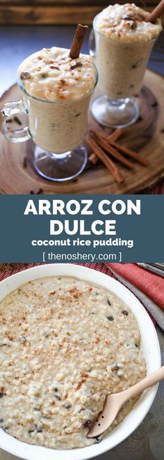 Arroz Con Dulce (Coconut Rice Pudding)   The Noshery