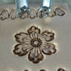 leather stamp set | ... Stainless Leather Stamping Tools - Flower Petal Set (2 Tools