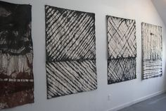 installation_(re) series Roman Shades, Textiles, Curtains, Architecture, Canvas, Home Decor, Art, Arquitetura, Tela