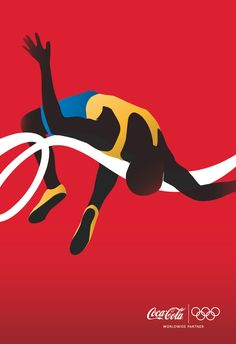adv / Coca-Cola: Athletes, High Jumper