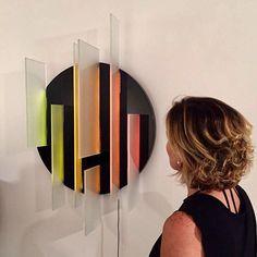 """Vidro em alta: a @galeria_nicoli de Carla Pilão inaugura hoje a mostra """"Odisseia"""" na qual reúne a criação de nove designers brasileiros feitas no material - uma parceria com a @glassonze. Na foto a luminária Fresta do arquiteto e designer @RodrigoOhtake. (via @acralston) #galerianicoli #glass11 #rodrigoohtake  via VOGUE BRASIL MAGAZINE OFFICIAL INSTAGRAM - Fashion Campaigns  Haute Couture  Advertising  Editorial Photography  Magazine Cover Designs  Supermodels  Runway Models"""