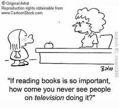 This is why we MUST keep reading alive in this current and subsequent generations!   Share the joy of reading!