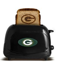 This Green Bay Packers Toaster is perfect! #zulilyfinds
