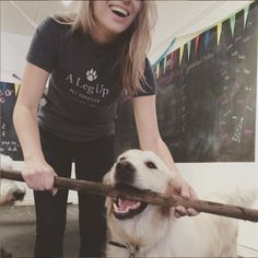 """""""A Leg Up has served pet owners for over a decade - thats over 7 dogs-decades!"""" Visit our website for more great stories. M&m Game, Customer Stories, High Jump, Dog Daycare, A Decade, Big Picture, Dog Days, Gta, Business"""
