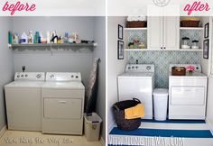 IHeart Organizing: Reader Space: Laundry Room Love Affair!