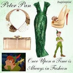 Disney Style: Peter Pan, created by trulygirlygirl