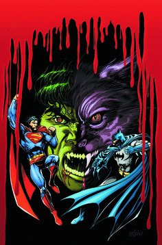 #Superman #Batman #Fan #Art. (SUPERMAN AND BATMAN VS. VAMPIRES AND WEREWOLVESTP Cover) By: Tom Mandrake. (THE * 5 * STÅR * ÅWARD * OF: * AW YEAH, IT'S MAJOR ÅWESOMENESS!!!™)[THANK U 4 PINNING!!<·><]<©>ÅÅÅ+(OB4E)