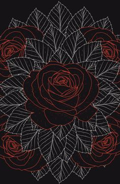 Case Floral Escuro do Studio Studiosigh por R$65,00