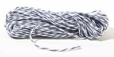 Gray and White Bakers Twine $2.99 for 15 yards