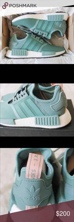 Adidas NMD WOMEN VAPOUR STEEL New with box. Adidas Shoes Athletic Shoes