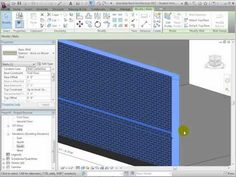 Revit Architecture - Modeling Exterior and Interior Walls - Lesson 2 - YouTube