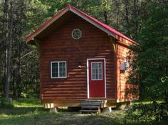 392 Sq. Ft. Tiny Cabin Built by Father and Son Now For Sale Photo