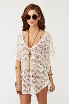 cute bikini coverup ; something to have for a beach trip