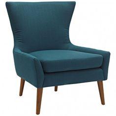 Modern Leatherette Lounge Chair Kent