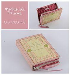 Vintage Pink book clutch by P.S. Besitos