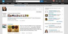 Neues Layout #LinkedIn Deutschland Herbst 2013