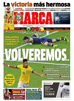 Marca segue a linha do As ao avisar que a Espanha voltará no ano que vem (Foto: Reprodução) Em 01/07/2013.