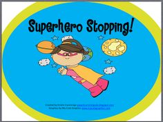 Phonological Process Week: Superhero Stopping! Giveaway at Simply Speech!