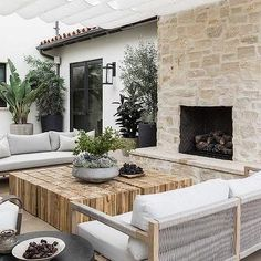 Outdoor Seating, Outdoor Rooms, Outdoor Dining, Outdoor Furniture, Outdoor Decor, Small Outdoor Spaces, Garden Furniture, Dining Table, Outdoor Fireplace Designs