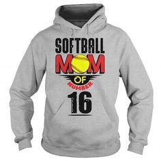 Softball mom of number 16