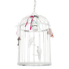 Suspension électrifiée Cage oiseaux chambre déco bébé