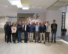 We were visited by our client #SABAG who came with a group of Swiss #architects.