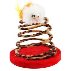 Revestido de pelúcia macia, o brinquedo rato na mola é recomendado para gatos de todas as idades, seu gatinho passará horas tentando pegar o ratinho que sempre fugirá de suas garras. Feito com uma base pesada de madeira com 14,5 cm para garantir que o brinquedo fique de pé o maior tempo possível, rss.