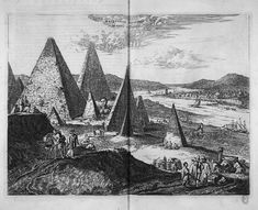 Image result for pyramids 1665 woodcut