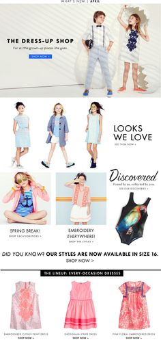 Girls' Clothing : Dresses, Sweaters & Shoes : Free Shipping  J.Crew