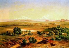 Velasco, Jose Maria (1840-1912) - 1905 The Valley of Mexico from Tepeyac (National Museum of Art, Mexico City, Mexico)
