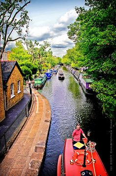 Little Venice - Maida Vale in London | 16 Places You'll Hardly Believe Are In The United Kingdom