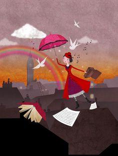 Mary Poppins by Pauline Cottereau-Junker