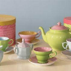 Children's Tea Set #teapot #tea